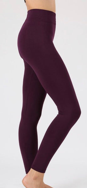 Dark Plum Leggings