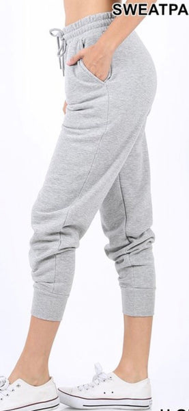 Heather Grey Jogger Set