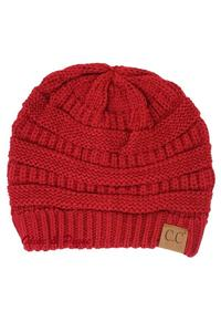 Ruby Red Beanie