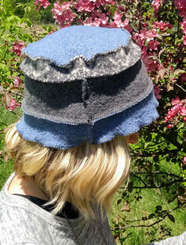HA027 Blue Stripe Hat