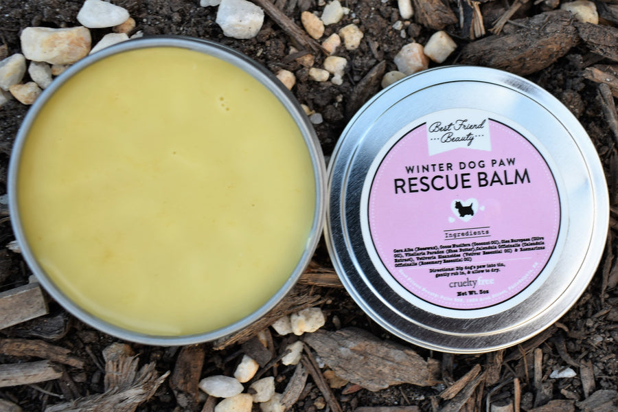 Winter Dog Paw Rescue Balm