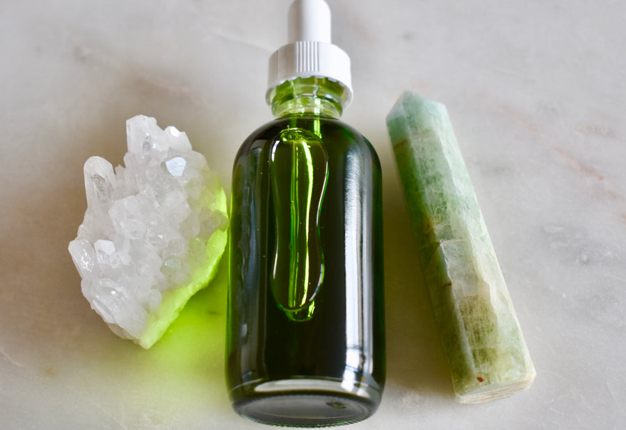Aquamarine Facial Oil