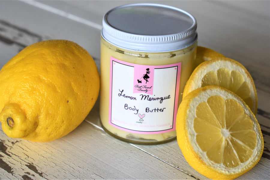 Summer Collection Lemon Meringue Body Butter