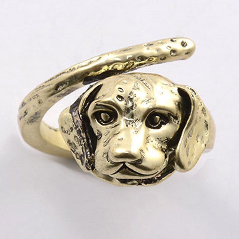 Adjustable Labrador Puppy Rings