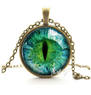 Cat Eye Necklace Pendant Fashion Charming