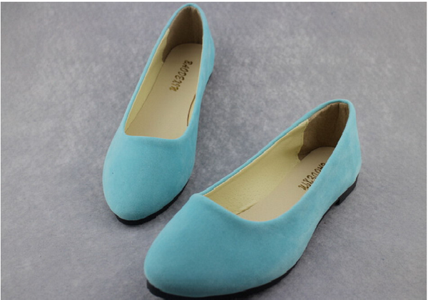Soft Flat Round Toe Daily Casual Shoes