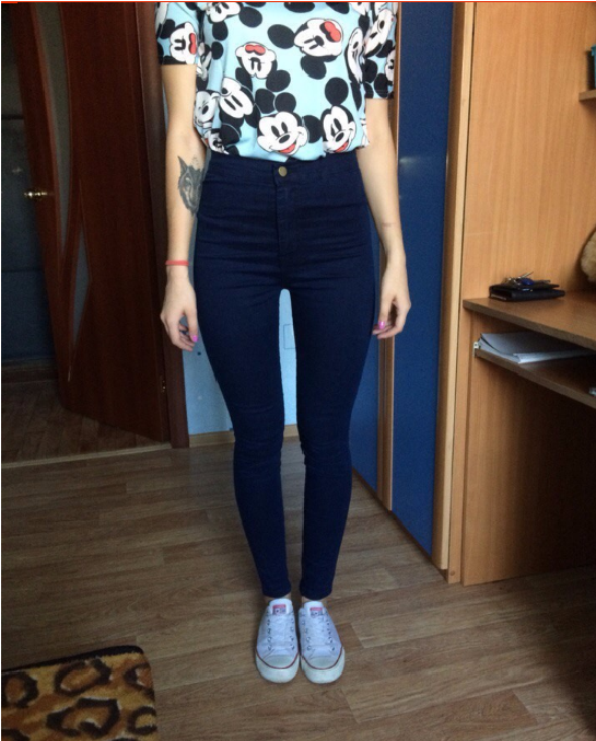 Women Skinny Jeans With High Waist Pants Femme Plus