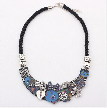 Rabbit Birds Cat Collar Necklace