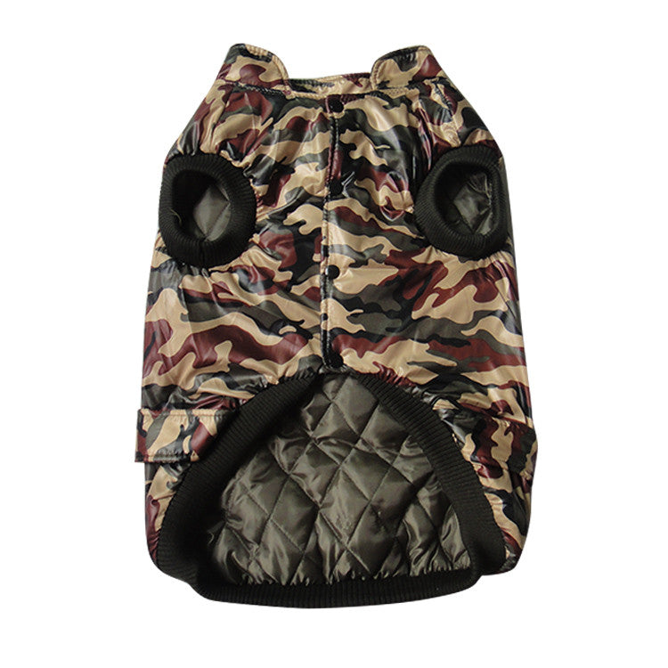 Camouflage Large Dog Clothes