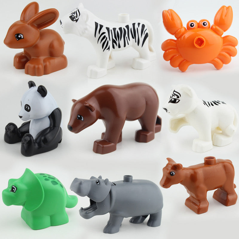Duploe Animal Building Blocks 10pcs/lot