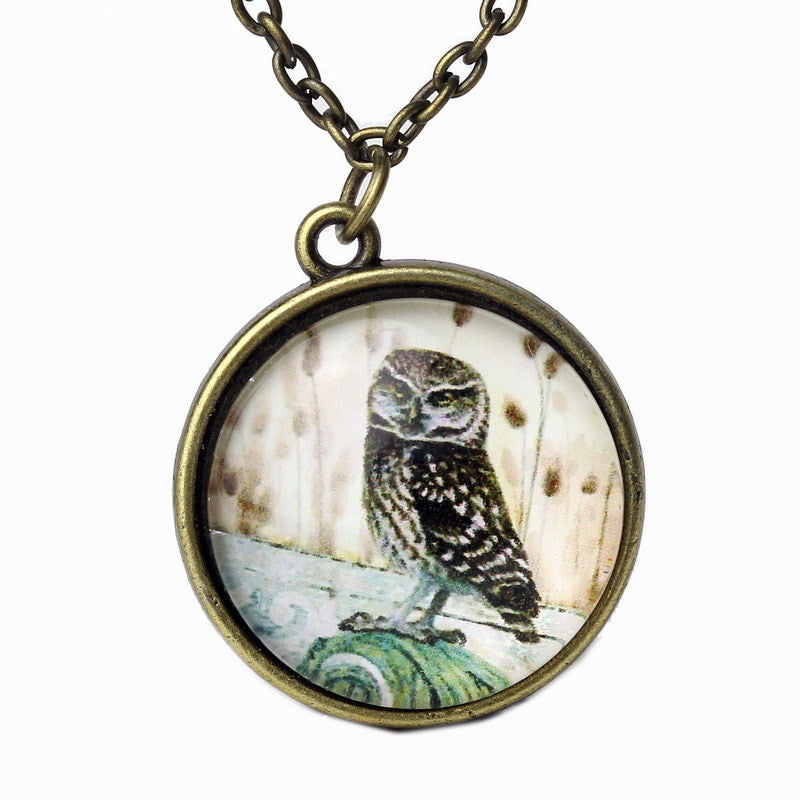 Fashion Cat Owl Horse Pendant Necklace