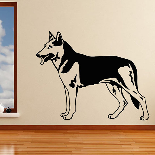 German Shepherd Wall Stickers