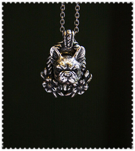 French Bulldog jewelry Antique
