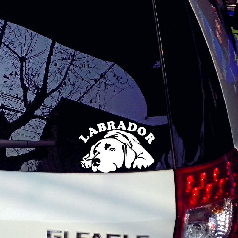 Labrador Stickers For Car