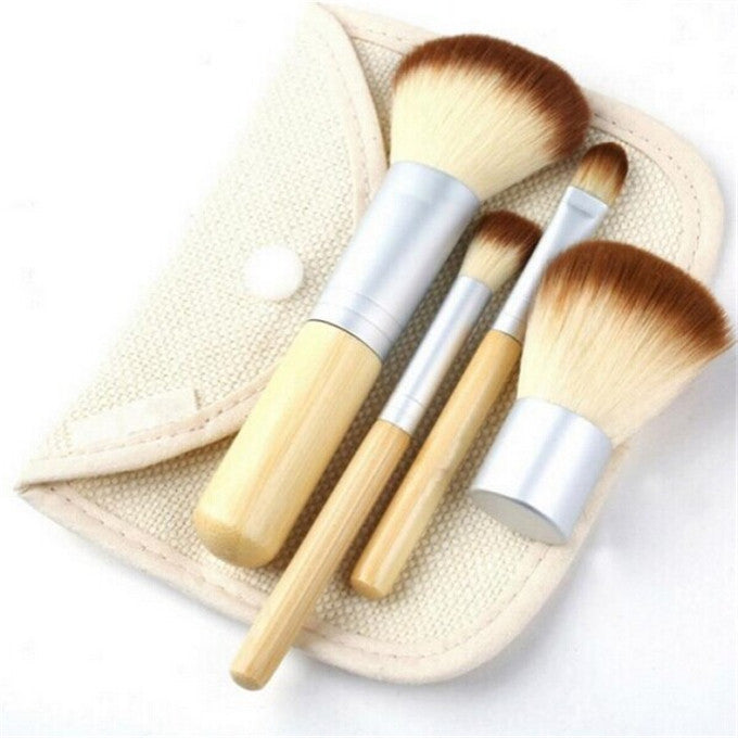 4pcs Makeup Brush Set