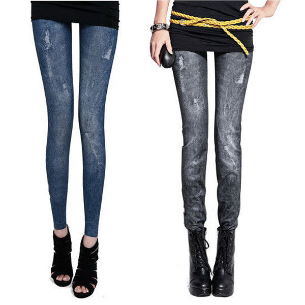 High Waist Tights Pants Trouser Tight Stretch Skinny Leggings Jeggings