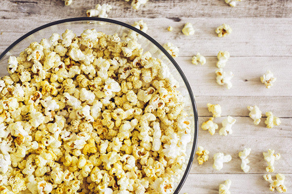 Coconut Curried Popcorn