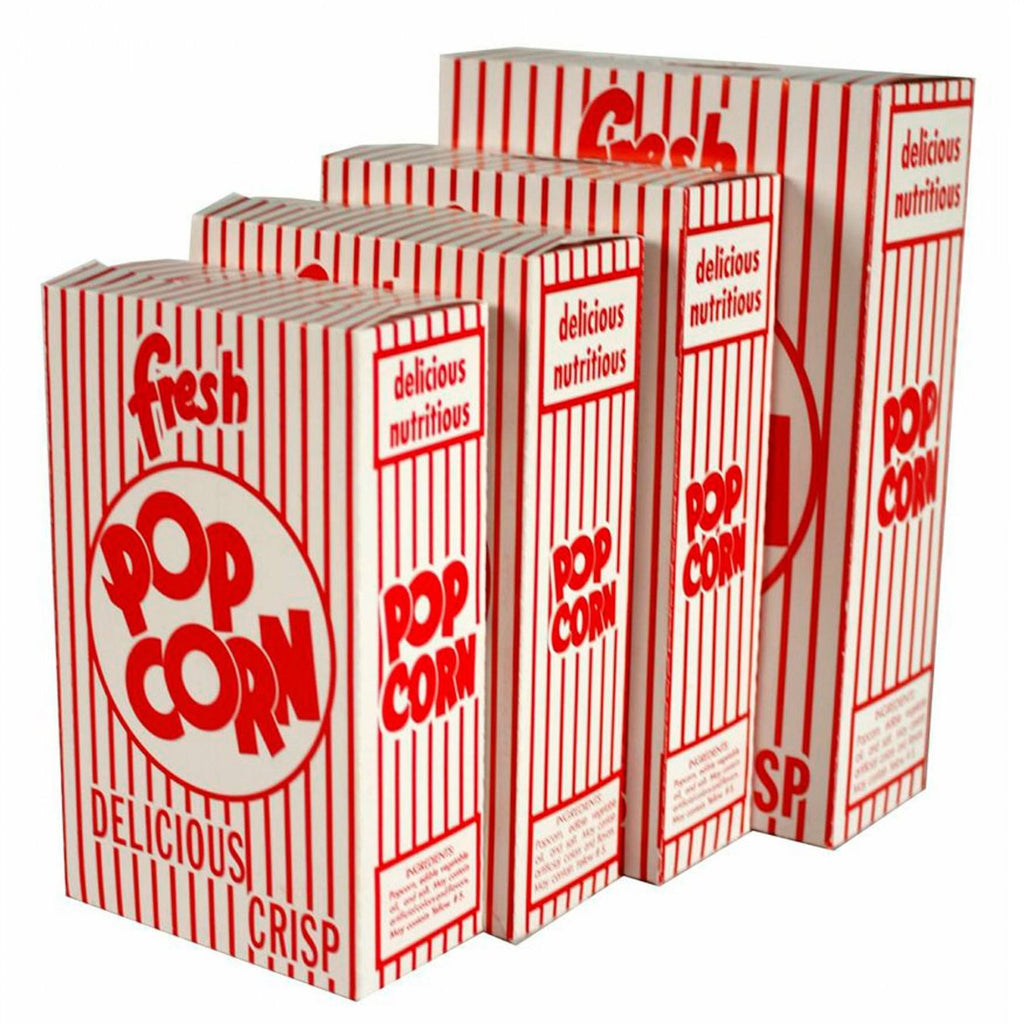 Popcorn Bags, Buckets, And Accessories - Popcorn Boxes