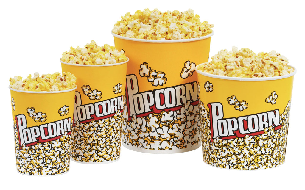 Popcorn Bags, Buckets, And Accessories - Popcorn Butter Buckets