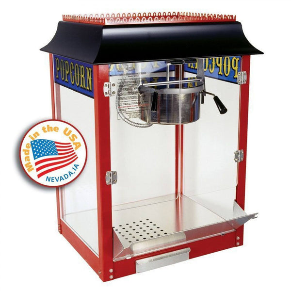 Popcorn Machines - Original Red 1911 Popcorn Machine