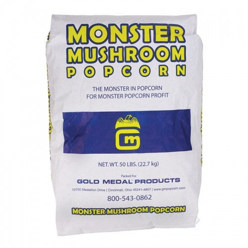 Popping Corn - 50 Lb. Bag Of Mushroom Corn