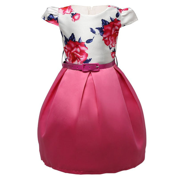 Angelina Flower Dress - amaze-mee store