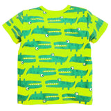 Green Crocodiles Kids T-shirt - amaze-mee store