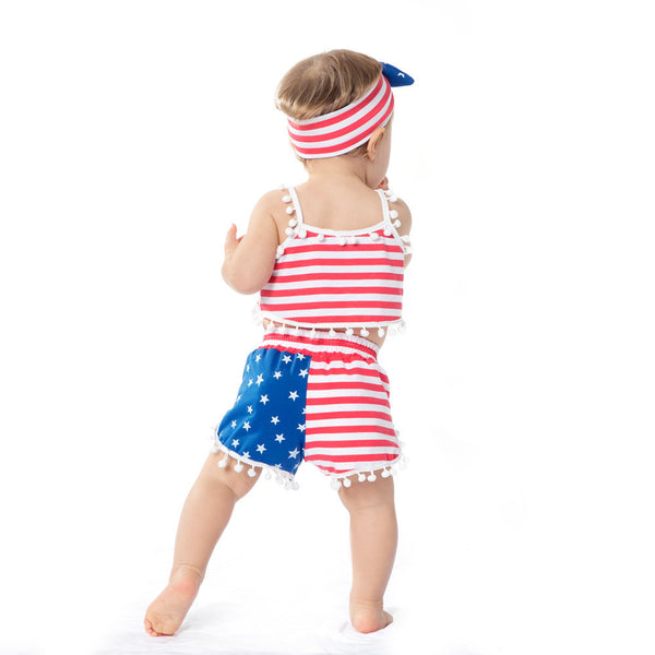 4th Of July Baby Girl Outfits - amaze-mee store