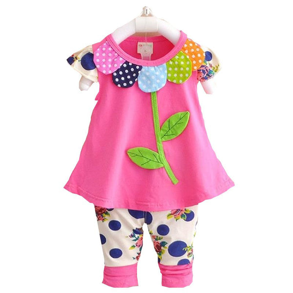 Floral Baby Girl Outfit - amaze-mee store
