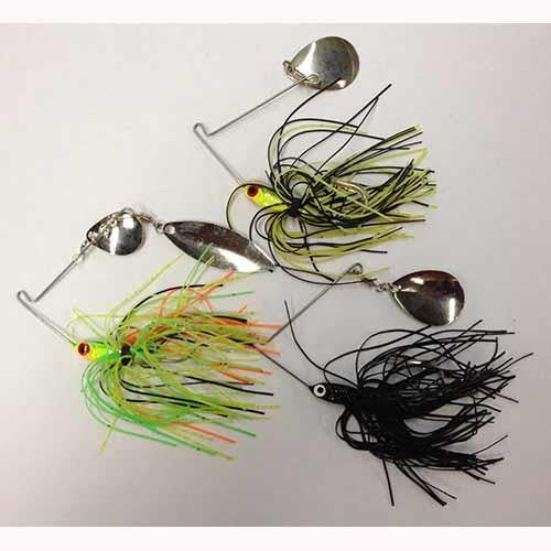 Eagle Claw Spinnerbaits 1/4 oz Assorted Colors/Blades