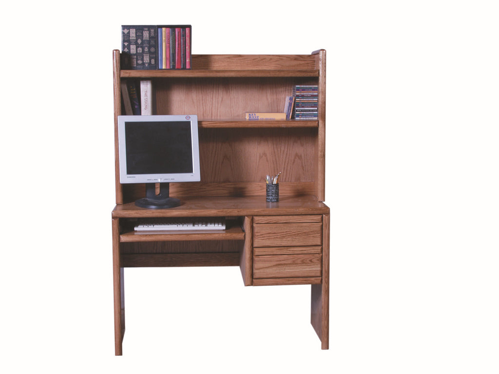 Forest Designs Bullnose Hutch for 1011: 44w x 31H x 13D (No Desk)