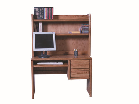 Forest Designs 44W Bullnose Desk & Hutch