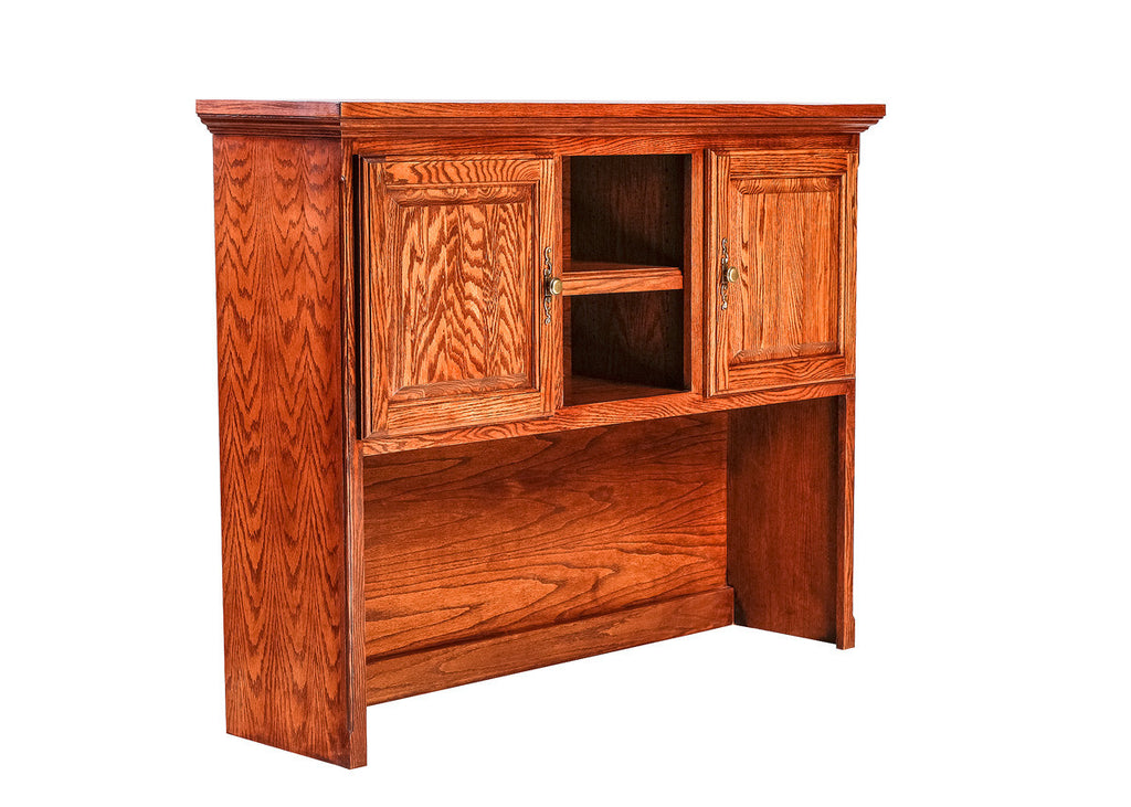Forest Designs Traditional Oak Hutch for 1062: 56w x 42H x 13D