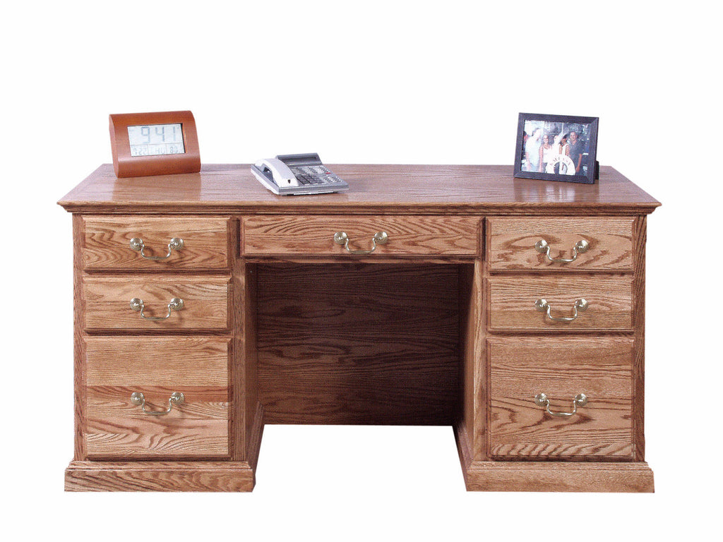 Forest Designs Traditional Desk: 60W x 30H x 28D