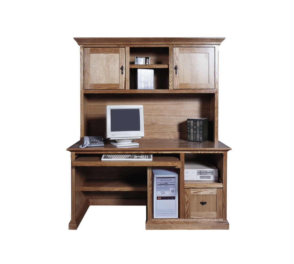 Forest Designs Mission Computer Desk: 60W x 30H x 24D (No Hutch)