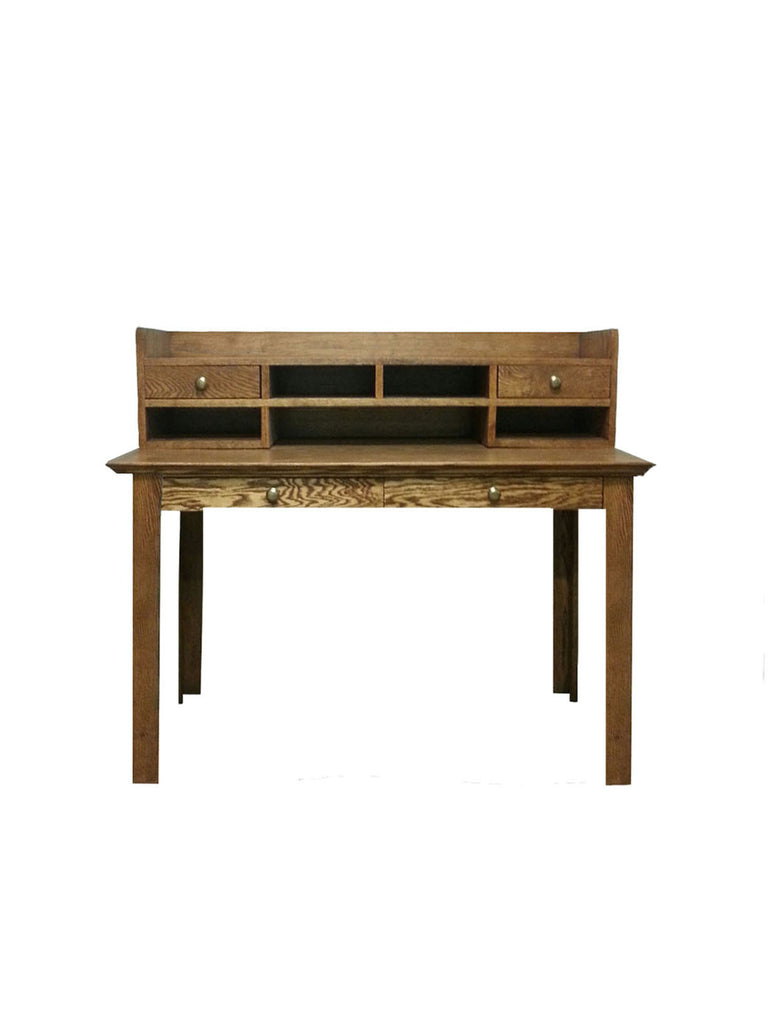 Forest Designs Traditional Laptop/Writing Table & Mini Hutch