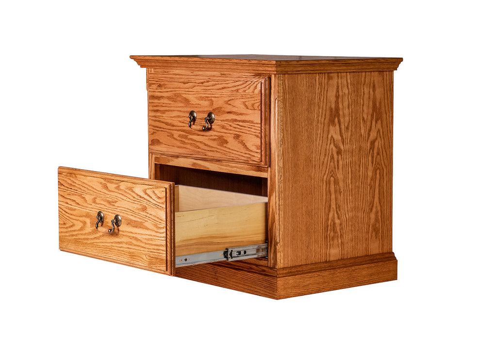 Night Stand Designs : Forest designs traditional two drawer nightstand w h d