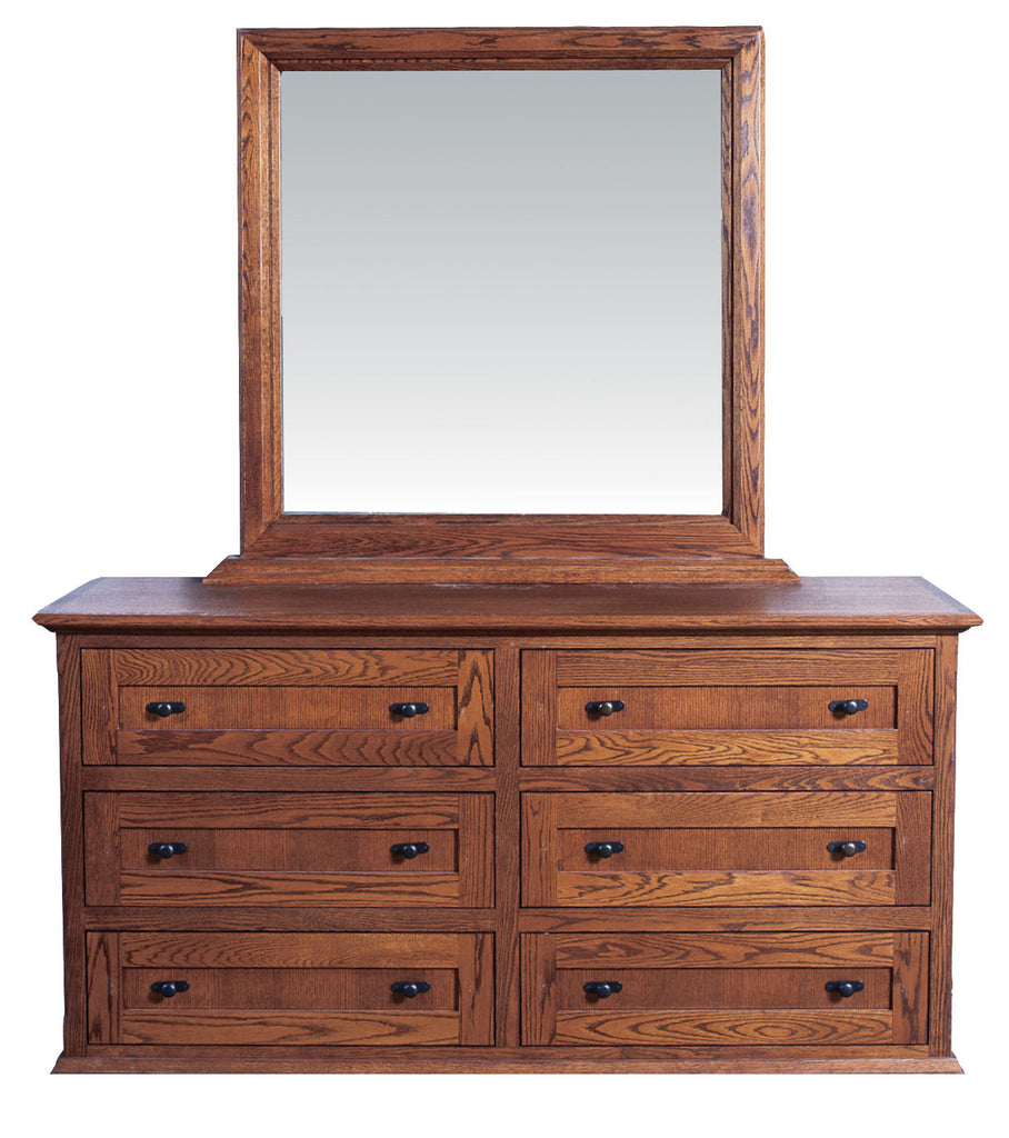 Forest Designs 60w Mission Dresser & Mirror