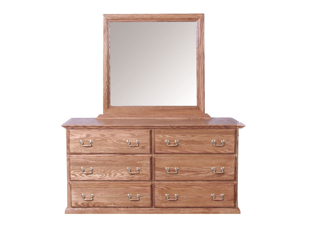 Forest Designs Traditional Dresser & Mirror