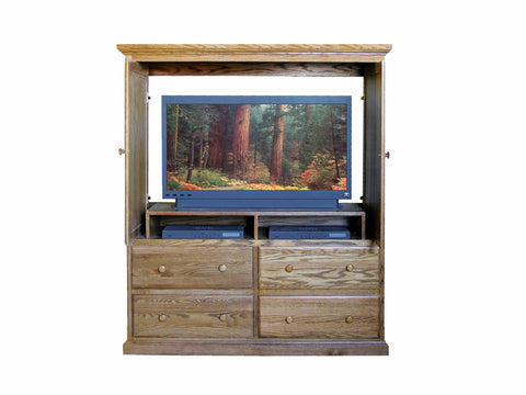 Forest Designs Traditional TV Armoire: 57W x 66H x 18D