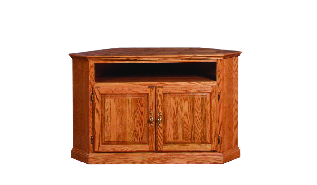 Forest Designs Traditional Corner TV Stand: 51W x 32H x 32D