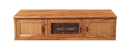 Forest Designs Mission TV Stand: 67W x 18H x 21D