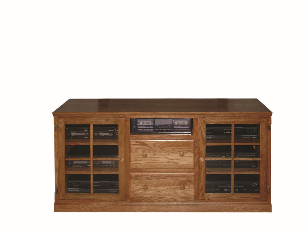 Forest Designs Traditional TV Stand with Drawers: 62W x 30H x 21D