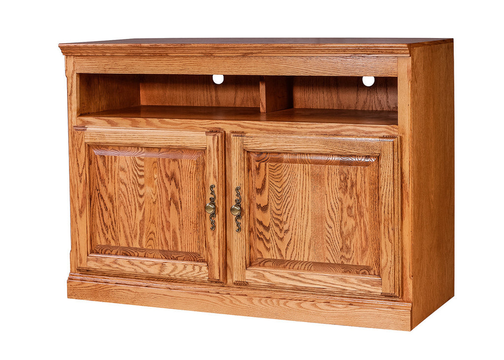 Forest Designs Traditional Oak TV Cart: 42W x 30H
