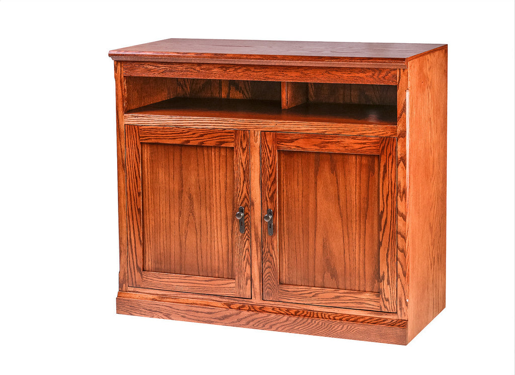 Forest Designs Mission Oak TV Cart:42W x 36H