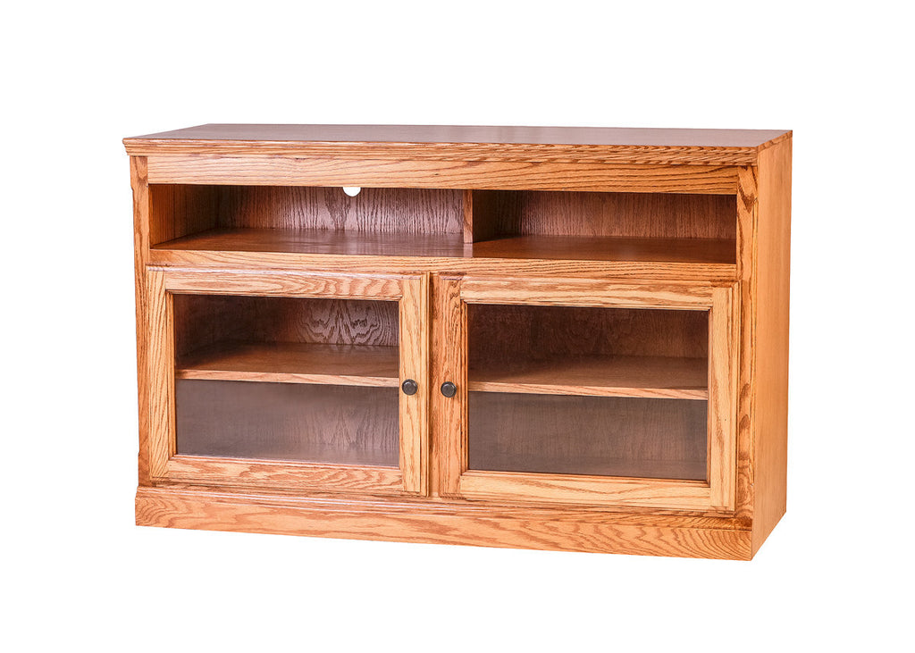 Forest Designs Traditional Oak TV Cart:48W x 30H