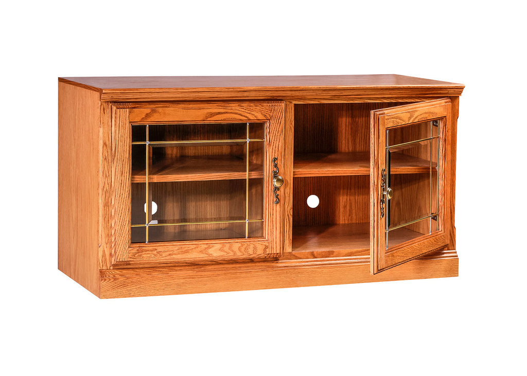 Forest Designs Traditional Oak TV Cart:42W x 22H