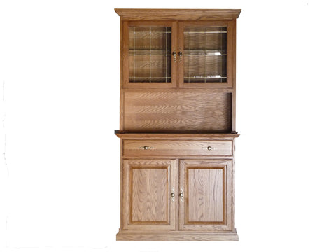 Forest Designs 42w Traditional Buffet & Hutch