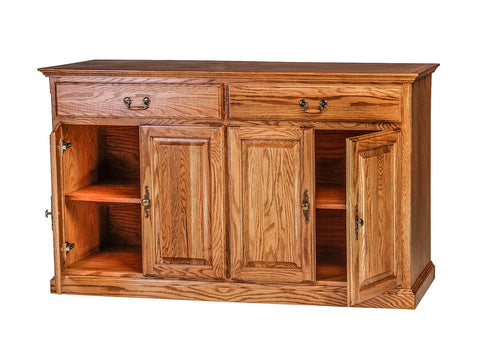 Forest Designs Traditional Oak Buffet: 60W x 36H x 18D