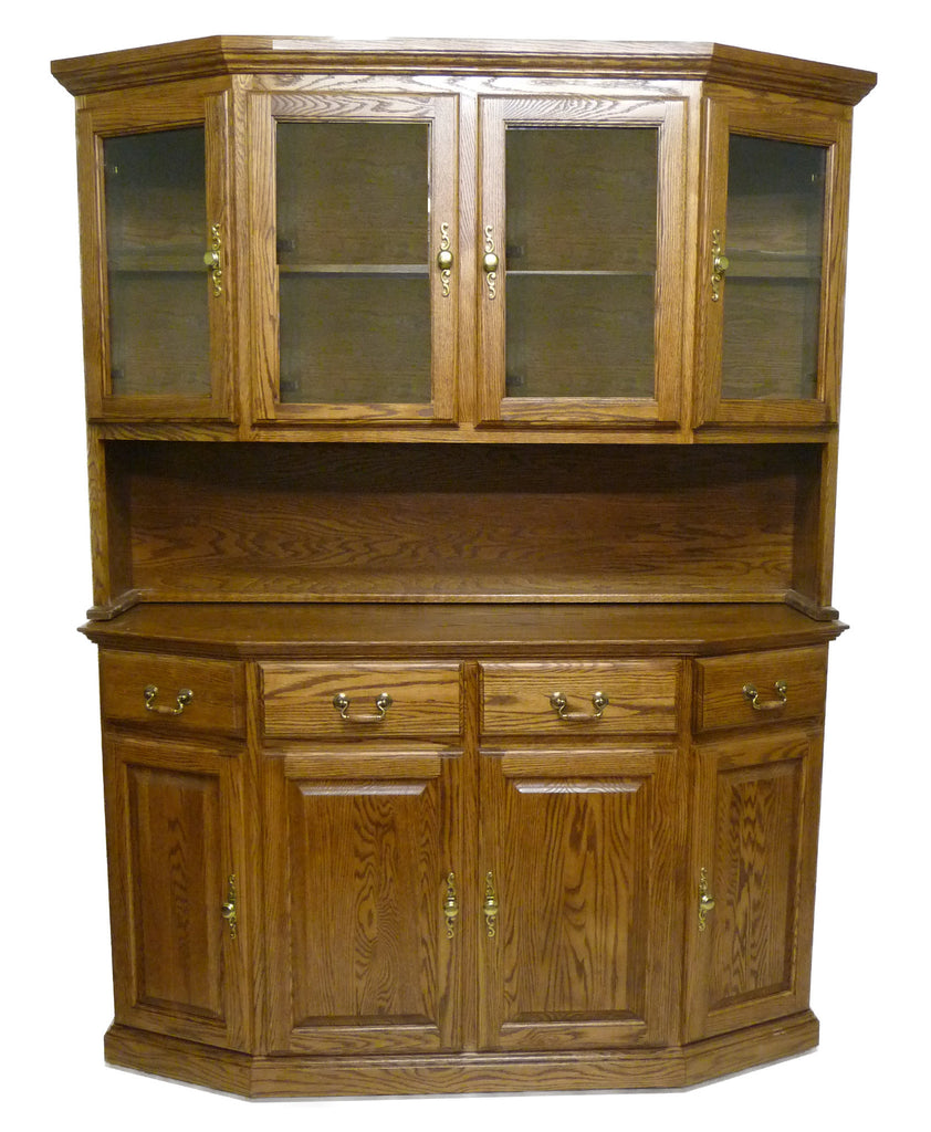 Forest Designs 60w Traditional Buffet & Hutch